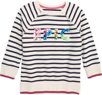 Boden Mini Epic Sparkle Sweatshirt