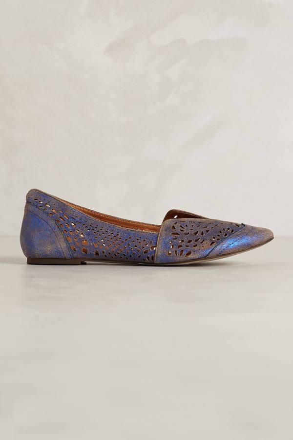 Gee WaWa Lydia Lasercut Loafers