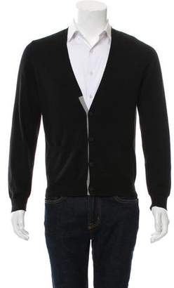 Dries Van Noten Knit Wool Cardigan