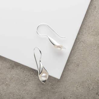 CALLA Emma-Kate Francis Lily Pearl Short Drop Earrings