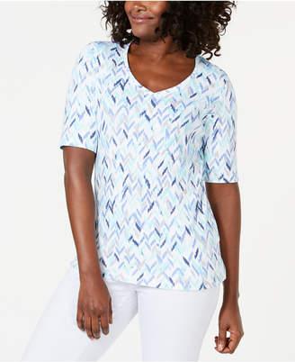 Karen Scott Printed T-Shirt