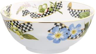 Mackenzie Childs Thistle and Bee Serving Bowl (23cm)