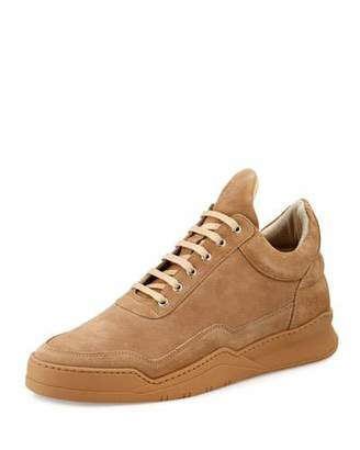 Filling Pieces Low-Top Ghost Sneakers, Sand $250 thestylecure.com
