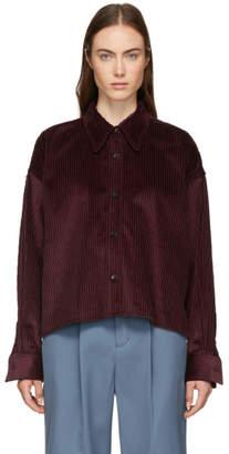 Isabel Marant Burgundy Hanao Shirt