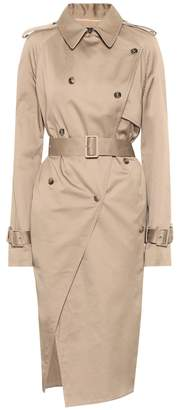 Rokh Cotton-twill trench coat