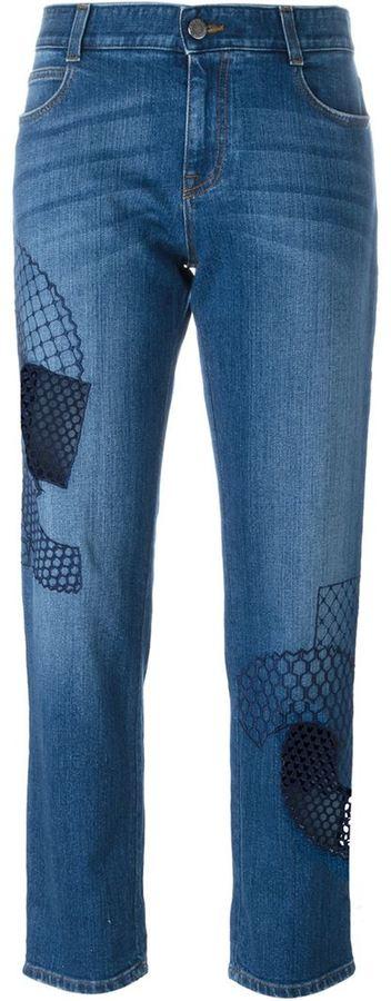 Stella McCartneyStella McCartney cropped jeans