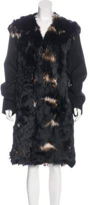 Marni Alpaca Fur Coat w/ Tags