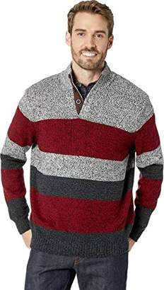 Chaps Men's Stripe Fashion Long Sleeve Sweater