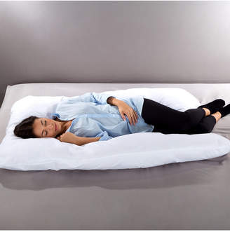 Trademark Global Full 7 in 1 Body Pillow w/Removeable Cover and Comfortable U-Shape Design by Lavish Home