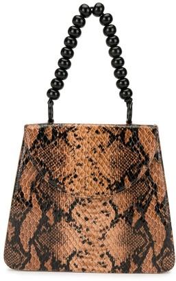 Maryam Nassir Zadeh snake-effect Sophie tote bag