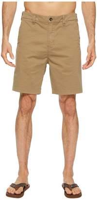 VISSLA No See Ums No Side Seam Twill Chino Walkshorts 19 Men's Shorts