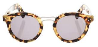 Cutler and Gross Tinted Tortoiseshell Sunglasses brown Cutler and Gross Tinted Tortoiseshell Sunglasses