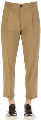 Pt01 Techno Stretch Cotton Blend Pants