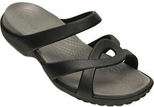 Crocs Slide Sandals - Meleen Twist $35 thestylecure.com