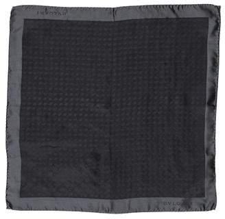 Bvlgari Silk Jacquard Pocket Square