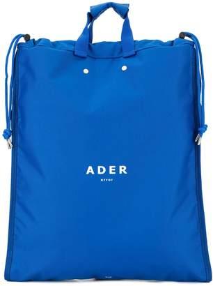 Ader Error printed logo backpack