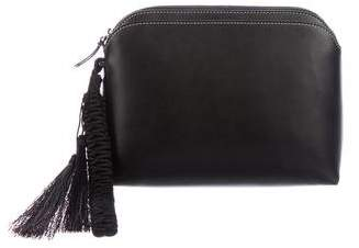 The Row Multi-Pouch Leather Wristlet w/ Tags