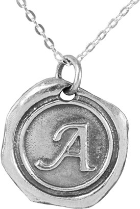 Sterling Silver Initial Pendant with Chain