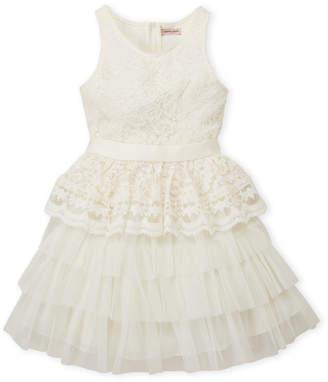 Nanette Lepore Girls 7-16) Lace & Tulle Dress