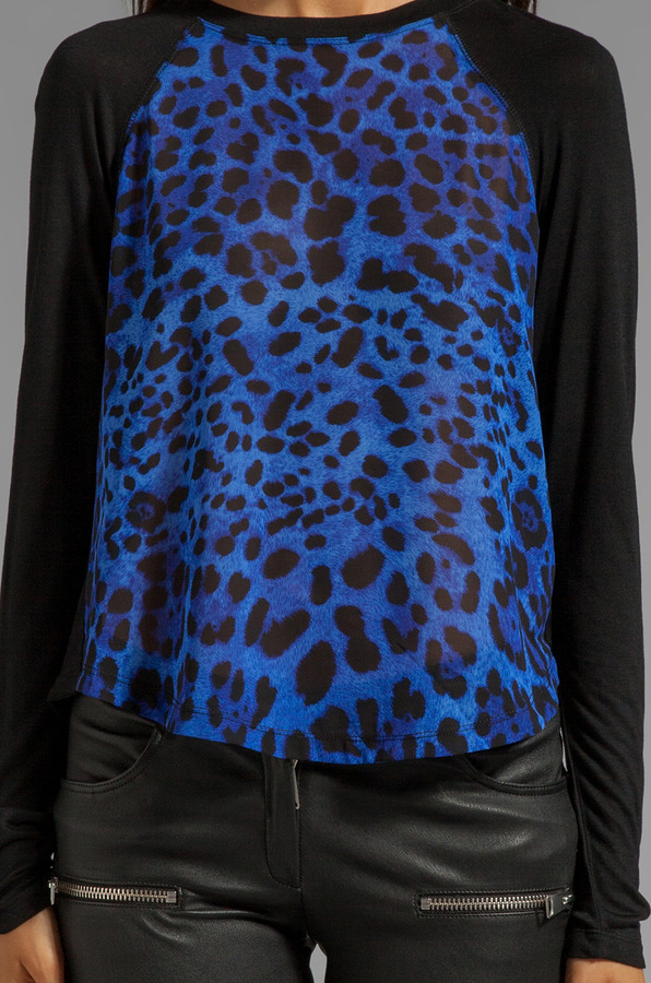 Dolce Vita Lennie Colored Leopard Top