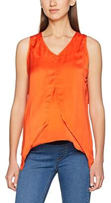 Mama Licious Mamalicious Women's Mlmagery Iris S/L Woven NF Maternity Vest Top,(Manufacturer Size: XL)