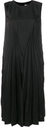 Maison Margiela pleat effect shift dress
