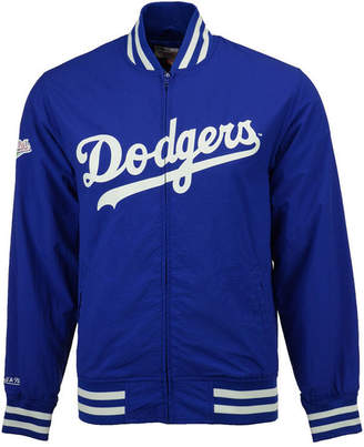 Mitchell & Ness Mitchell and Ness Men's Los Angeles Dodgers Team History Warm Up Jacket