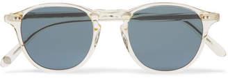 Garrett Leight California Optical Hampton 46 Round-Frame Acetate Polarised Sunglasses
