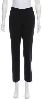 Calvin Klein Collection Virgin Wool Straight-Leg Pants