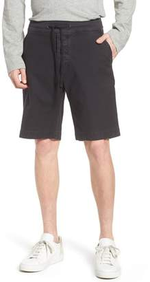 James Perse Compact Stretch Cotton Shorts