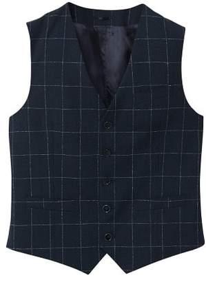 Mango man MANGO MAN Slim-fit check wool suit gilet