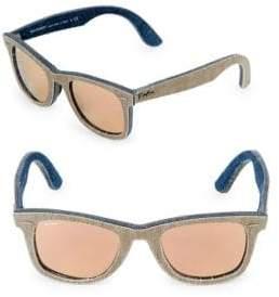 Ray-Ban 47MM Square Wayfarer Sunglasses
