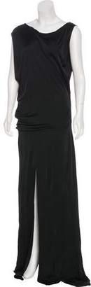 Alexis Bateau Neck Maxi Dress