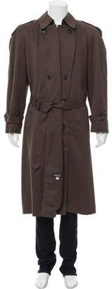 Christian Dior Woven Trench Coat