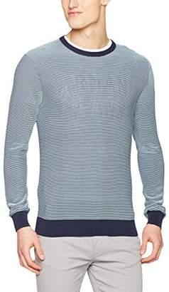 Armani Jeans Men's Regular Fit 100% Cotton Logo Sweater