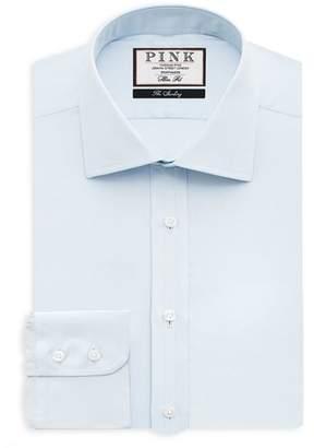 Thomas Pink Arthur Plain Dress Shirt - Bloomingdale's Regular Fit