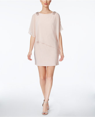 X by Xscape Embellished Chiffon Cape Dress $109 thestylecure.com