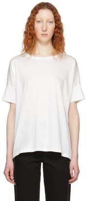 Lemaire White Jersey T-Shirt
