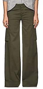 Nili Lotan Women's Harrow Cotton Cargo Pants - Loden