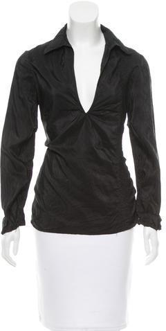 CNC Costume NationalCostume National Lightweight Silk Top