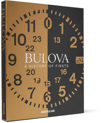 Assouline Bulova: A History Of Firsts Hardcover Book
