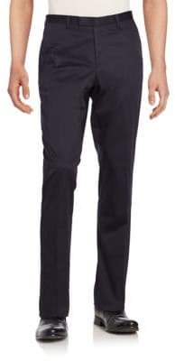 HUGO BOSS Sharp Stretch Cotton Trousers