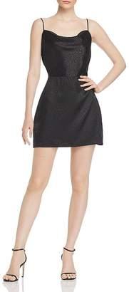 KENDALL + KYLIE Lace-Up Leopard-Pattern Mini Dress
