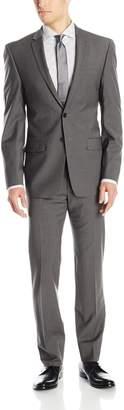 DKNY Men's Driver 2 Button Side Vent Modern Fit Suit