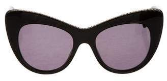 Stella McCartney Embellished Cat-Eye Sunglasses