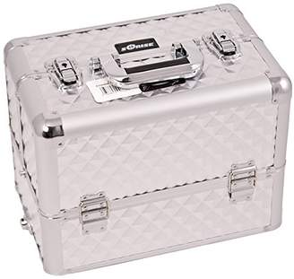Craft Accents 6-Tiers Tray Professional Aluminum Cosmetic Makeup Case