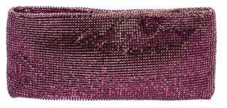 Christian Louboutin Crystal-Embellished Clutch