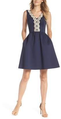 Lilly Pulitzer R) Rorey Fit & Flare Dress