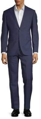 Saks Fifth Avenue Extra Slim Fit Two-Piece Wool Suit