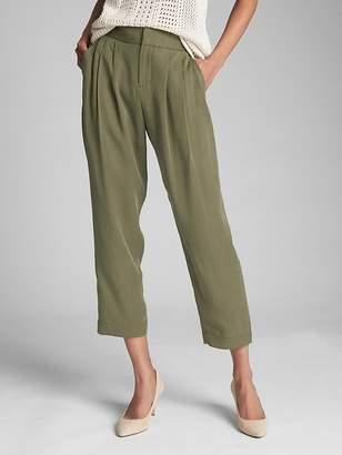 Gap Pleated Ankle Pants in TENCEL